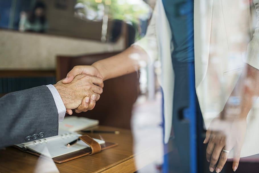 business-businessman-businesswoman-congratulating